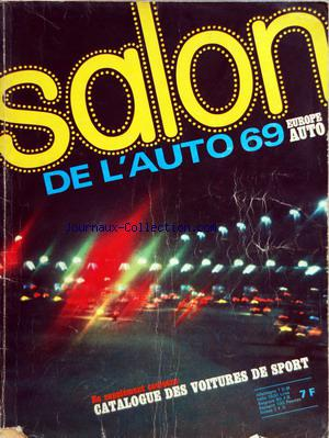 SALON DE L'AUTO 1969 no: