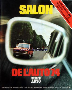 SALON DE L'AUTO 1974 no: