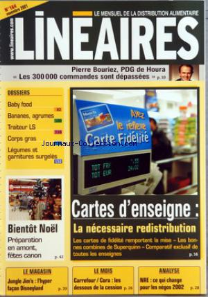 LINEAIRES no:164 01/11/2001