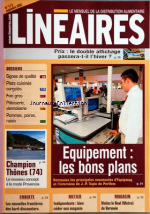 LINEAIRES no:173 01/09/2002