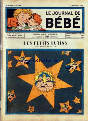 JOURNAL DE BEBE (LE) no:156 02/11/1934