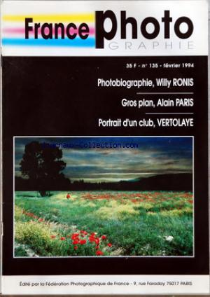 FRANCE PHOTOGRAPHIE no:135 01/02/1994