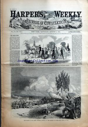 HARPER'S WEEKLY no:5 / 240 03/08/1861