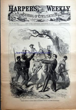 HARPER'S WEEKLY no:5 / 248 28/09/1861