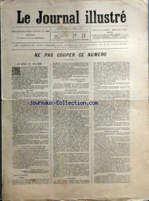 JOURNAL ILLUSTRE (LE) no:16 19/04/1896