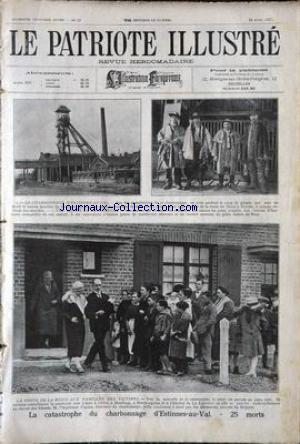 PATRIOTE ILLUSTRE (LE) no:17 24/04/1927