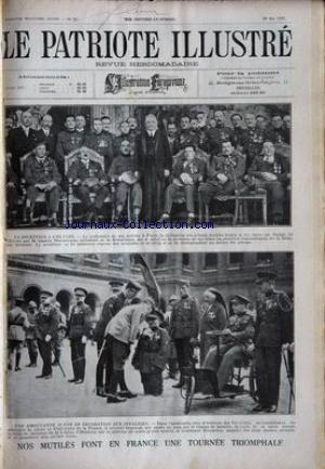 PATRIOTE ILLUSTRE (LE) no:22 29/05/1927