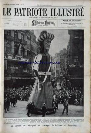 PATRIOTE ILLUSTRE (LE) no:25 19/06/1927