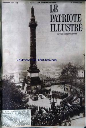 PATRIOTE ILLUSTRE (LE) no:46 18/11/1934