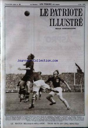 PATRIOTE ILLUSTRE (LE) no:18 06/05/1934