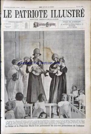 PATRIOTE ILLUSTRE (LE) no:24 13/06/1926