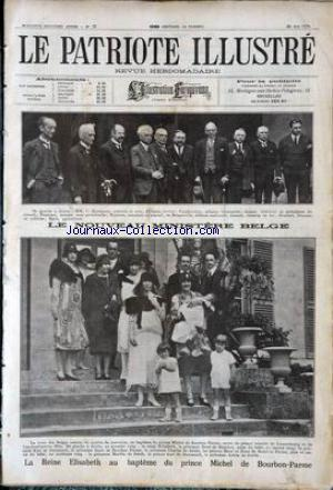 PATRIOTE ILLUSTRE (LE) no:22 30/05/1926
