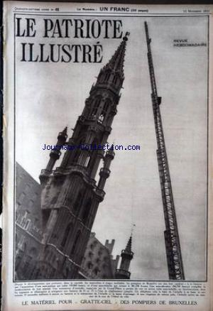 PATRIOTE ILLUSTRE (LE) no:46 15/11/1931