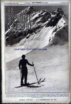 PATRIOTE ILLUSTRE (LE) no:51 18/12/1932