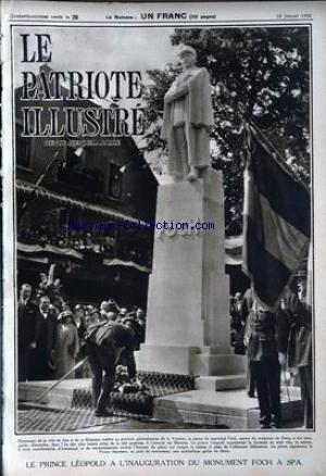 PATRIOTE ILLUSTRE (LE) no:28 10/07/1932