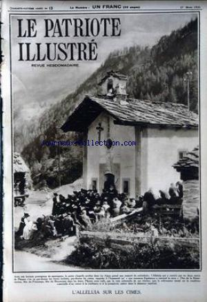 PATRIOTE ILLUSTRE (LE) no:13 27/03/1932
