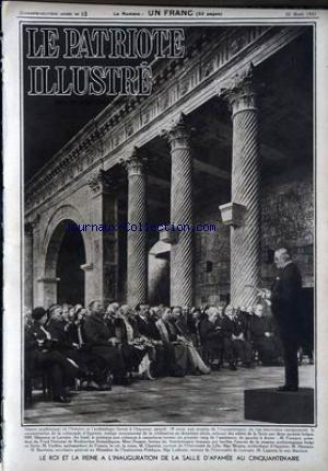 PATRIOTE ILLUSTRE (LE) no:13 26/03/1933