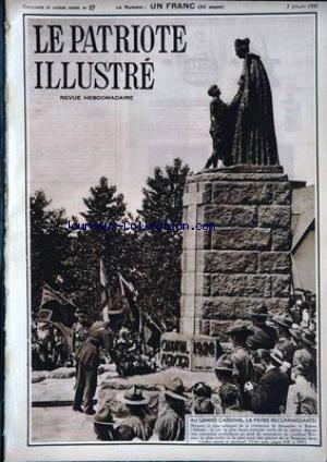 PATRIOTE ILLUSTRE (LE) no:27 07/07/1935