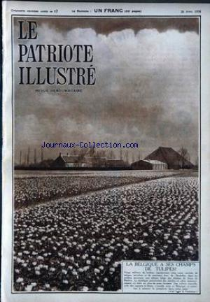 PATRIOTE ILLUSTRE (LE) no:17 26/04/1936