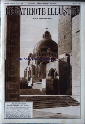 PATRIOTE ILLUSTRE (LE) no:13 29/03/1936