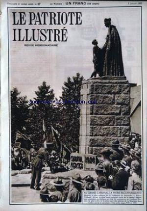 PATRIOTE ILLUSTRE (LE) no:27 07/08/1935