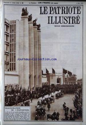 PATRIOTE ILLUSTRE (LE) no:18 05/05/1935