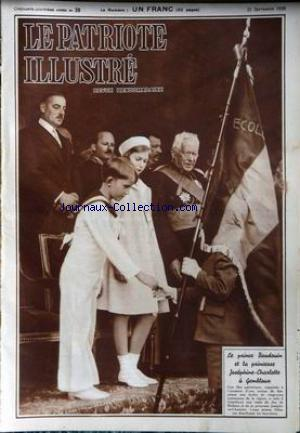 PATRIOTE ILLUSTRE (LE) no:39 25/09/1938