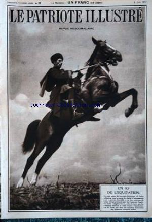 PATRIOTE ILLUSTRE (LE) no:23 06/06/1937