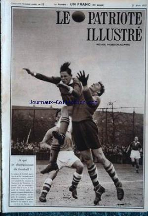 PATRIOTE ILLUSTRE (LE) no:12 21/03/1937