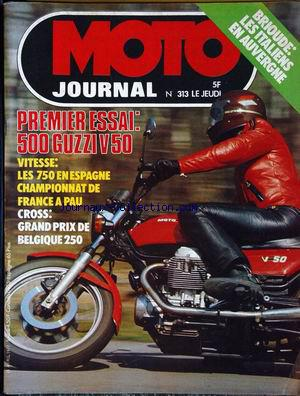 MOTO JOURNAL no:313 28/04/1977