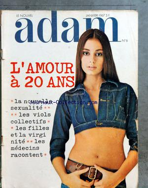 NOUVEL ADAM (LE) no:6 01/01/1967