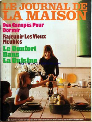 JOURNAL DE LA MAISON (LE) no:70 01/03/1974