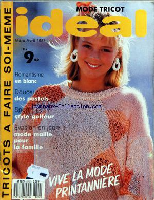 IDEAL MODE TRICOT no:8702 01/03/1987