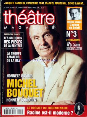 THEATRE MAGAZINE no:3 01/10/1999