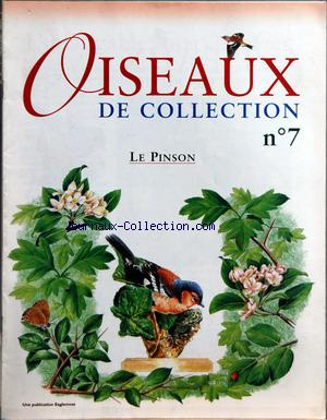 OISEAUX DE COLLECTION no:7