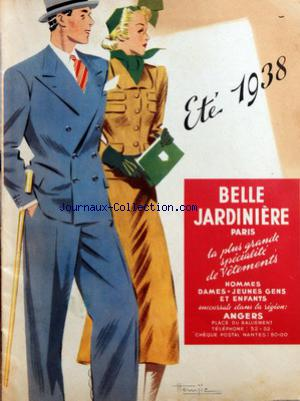 BELLE JARDINIERE PARIS no: 01/07/1938