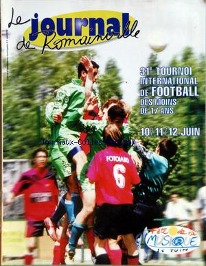 JOURNAL DE ROMAINVILLE (LE) no:6 01/06/2000