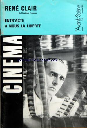 AVANT SCENE CINEMA (L') no:86 01/11/1968