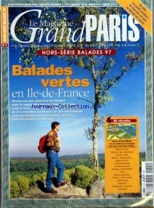 MAGAZINE DU GRAND PARIS (LE) no:1 HS 01/12/1994