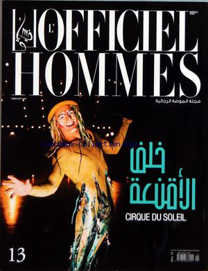 OFFICIEL HOMMES (L') no:13 01/02/2007