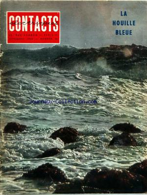 CONTACTS ELECTRIQUE no:26 01/11/1960