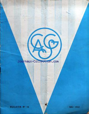 CLUB ATHLETIQUE SPORTS GENERAUX no:16 01/05/1961