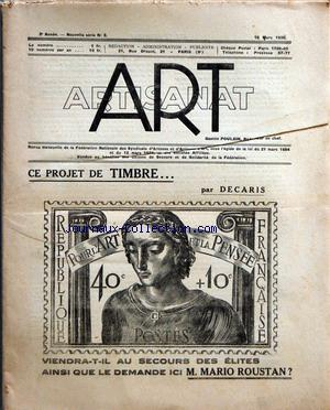 ART ARTISANAT no:3 15/03/1935
