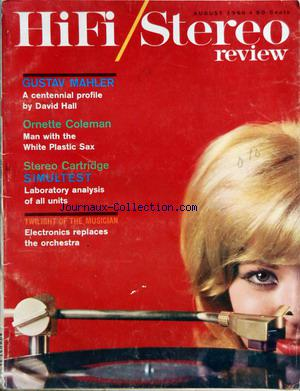 HIFI STEREO REVIEW no: 01/08/1960