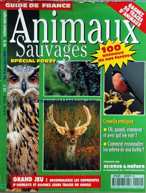 ANIMAUX SAUVAGES no:2 01/10/1997
