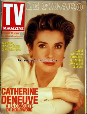 TV MAGAZINE LE FIGARO no: 02/03/1993