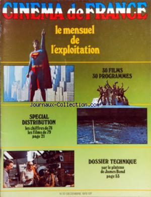 CINEMA DE FRANCE no:30 01/12/1978