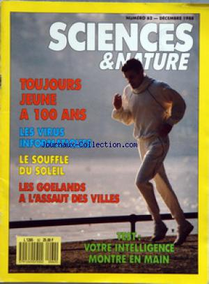 SCIENCES ET NATURE no:62 01/12/1988