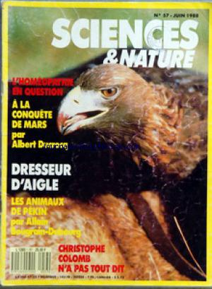 SCIENCES ET NATURE no:57 01/06/1988