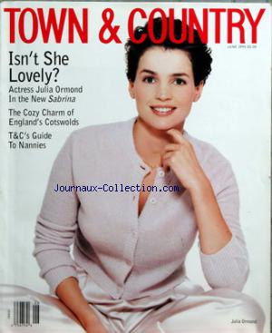 TOWN AND COUNTRY no: 01/07/1995